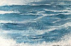 Pacific ocean NW, schilderij van Diney-Art, Diney Berg | Abstract | Modern | Kunst