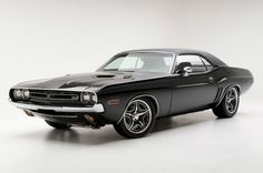 1971 Dodge Challenger muscle car