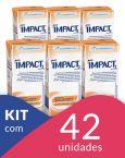 Impact Pêssego - Tetra Slim 200mL - 42 unidades Personal Care, Slim, Self Care, Personal Hygiene