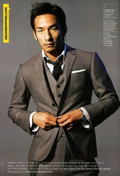 Hidetoshi Nakata: the Asian David Beckham and one of the most stylish dudes I've ever met.    I met Hidetoshi when I was still a retail boy over at JEFFREY NY back in 2005. I'd never met anyone that rocked Margiela with Jordan 1s up until that point. At the time, he was playing ball for Fiorentina. A year or two later I see dude popping up in all the men's fashion books. He's since retired from professional soccer and is now Editor-at-Large for Monocle Magazine.