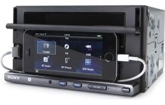 Autoestereo Sony XSP-N1BT Doble DIN con Plataforma Smartphone