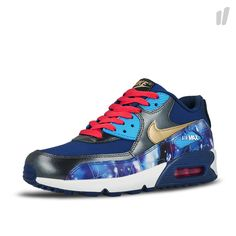 new product 958c4 80941 Nike Air Max 90 Premium Leather GS ( 724879 004 )
