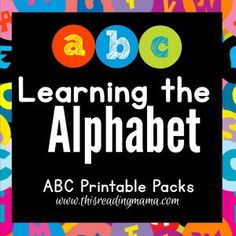 Learning the Alphabet no border