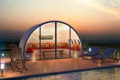 Shedworking, a site devoted to garden offices, is showing a new one made from the fuselages of jet planes, Dappr Aviation's Aeropod. -- love this
