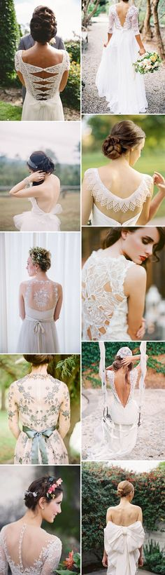 Rock My Wedding's Favourite 2014 Bridal Trends Including Statement Back Bridal Gowns, Juliet Bridal Veil And Two Piece Wedding Dresses._0004