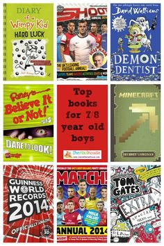 Holiday Gift Guide - Books for 7/8 Year old boys - Mum In The Madhouse- Mum In The Madhouse