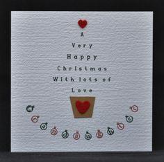 Handmade Christmas Card idea