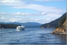 vancouver ferry.....one of the beautiful ferry rides ever...to Victoria...with Bowers