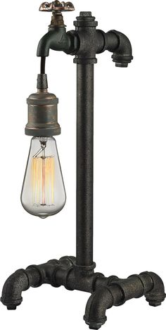 Features:  -Jonas collection.  -Multi-tone weathered finish.  -Bulb type: Medium.  -Fixture uses 1- 60 watt.  Fixture Finish: -Multi-tone weathered.  Fixture Material: -Metal.  --This series features