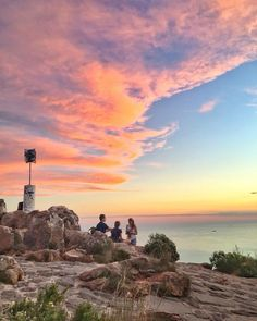 A summer evening on the summit of Table Mountain - no better place to be! Table Mountain, Summer Evening, Cape Town, Wonders Of The World, South Africa, Most Beautiful, Sunset, City, Places