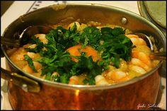açorda de camarão (portuguese bread soup with shrimp). one of my favourite meals ever. ate this somewhere in Bairro Alto, Lisbon, Portugal.