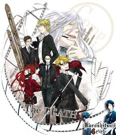 Black Butler ~~~ ATTN: American fans: The Boards are Gravemarkers. Just FYI...