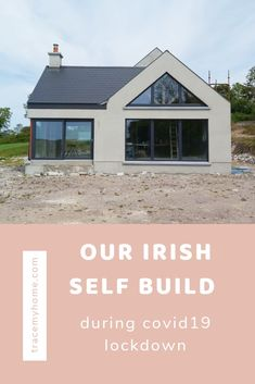 Our Irish self build during covid19 lockdown goes into detail about what my husband was able to do while off work. He has a background in building and progress was able to keep moving forward. Self Build Houses, Ireland Homes, House Layouts, Farmhouse Design, Moving Forward, Building A House, House Plans, Irish, Husband