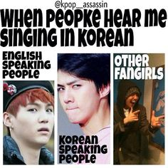 SOOOOOOOOO TRUEEEEEEE XD Some Korean people have actually had a conversation with me in Korean XD