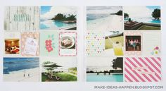 Project Life Travel Bohol, Philippines  project life vacation  project life summer  project life dear lizzy polka dot party mini kit  thickers  project life beach Project Life Travel, Becky Higgins, Project Life Layouts, Polka Dot Party, Pocket Scrapbooking, Heidi Swapp, Daydream, Diy Gifts, Graphic Design