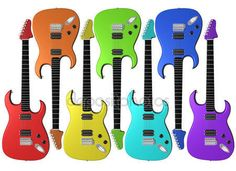 depositphotos_2825766-stock-photo-rainbow-colored-electric-guitars.jpg (450×327)