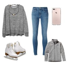 """Ice skating with friends"" by vec2002 ❤ liked on Polyvore featuring Gap, Frame, Freestyle and Patagonia"