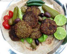 Turmeric and Saffron: Kotlet - Persian Meat Patties