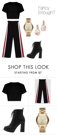 """""""Fancy."""" by alessiabazzurro on Polyvore featuring Michael Kors and BillyTheTree"""
