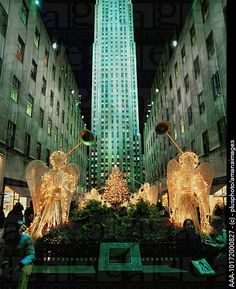 Christmas At Rockefeller Center- What a beautiful sight!