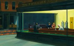 Tardis by Edward Hopper