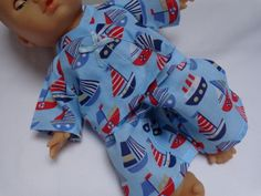 Dolls Clothes Pyjamas to fit 30cm (12inch) baby dolls ELC Cupcake  £4.99