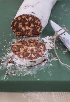 Salchichón de CHOCOLATE!! www.sdesweet.com