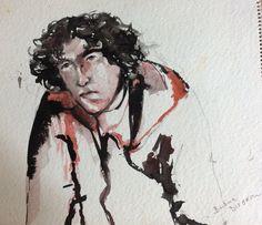 Self portrait --- artist Barbara Turnbull ( Disbrow) collection of F Crum