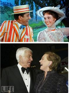 Julie Andrews & Dick Van Dyke--things don't change :)