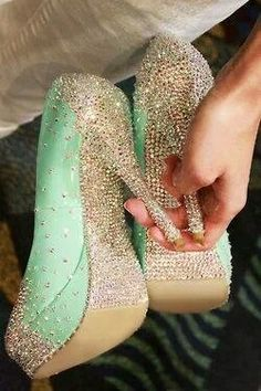 http://www.popularclothingstyles.com/category/quinceanera-dresses/ <3 sparkle shoes                                                                                                                                                      More