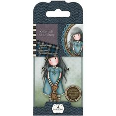 Docrafts Santoro Gorjuss  No. 4 FORGET ME NOT Stamp - 7 Kids Your Crafting Supply Store