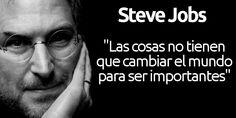 Las mejores frases de Steve Jobs en español las hemos recogido en este post para ayudarte en alguna presentación, si necesitas subirte el ánimo o por si quieres conocer más de cerca los pensamientos y reflexiones de Steve Jobs. A continuación tienes más de 20 citas célebres de Jobs traducidas del inglés. http://iphonedigital.com/frases-de-steve-jobs-mejores-citas-celebres-exito/ #apple #iphone
