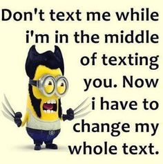 24 Newest Funny Minion Quotes and Pictures Of The Week | ♥ #ToDieFor #Thursday with #Capri #Jewelers #Arizona ~ www.caprijewelersaz.com ♥