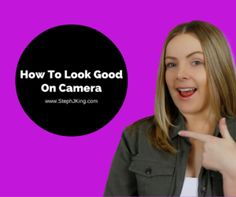 Check out my tips on how to look good on camera in my latest blog post.    And you'll want to watch the video to the end so you can see me act like a goof ball! haha   Please also like and share, I'd love that!