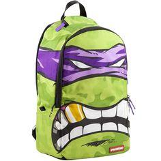 Sprayground TMNT Donatello Backpack (purple / green)