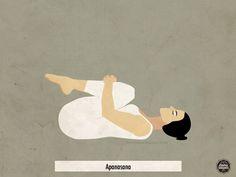 Apanasana: Es ideal como modo de cortar con el trabajo y ponerse en clima de descanso antes de dormir