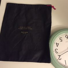 Shoe dust bag Offers welcome. Used once kate spade Bags