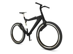 Hybrid city bike by Peter Dubas