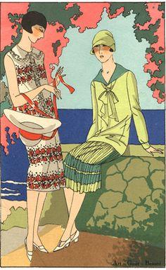 Illustration for Art, Goût, Beauté, 1920s