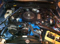 1982 Imperial engine compartment