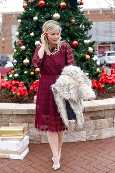 Glamorous Holiday Look Christmas Party - Afternoon Espresso Fashion Blog