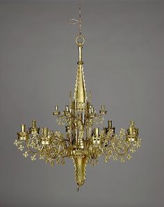 Chandelier with tabernacle (Kapellenkrone), Southern Netherlands, ca. 1450–70. Inv. no. 1975.1.1422. Metropolitan Museum of Art, New York © 2000–2014 The Metropolitan Museum of Art