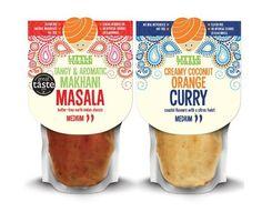 Design translates modern curry 'taste explosion' | Packaging World