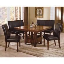 Crown Mark Salem High Back Upholstered Bench   Del Sol Furniture   Bench    Dining Benches