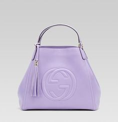 "Very girlie ""soho"" Gucci bag in lilac - too pretty!"
