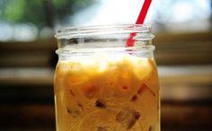 Delicioso café gelado