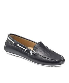 90802c251dd Take a look at this Black Cuno Boat Shoe by ECCO on  zulily today!