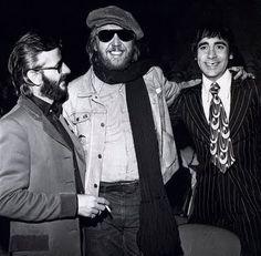 Ringo Starr, Harry Nilsson and Keith Moon