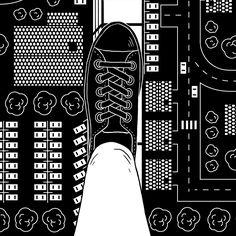 Image result for pixel art mozaek black and white