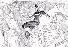 Batgirl by Josan Gonzalez